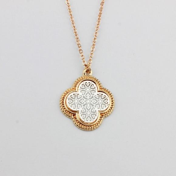 Revitalized jewelry 315 clover quatrefoil pendant necklace poshmark 315 clover quatrefoil pendant necklace aloadofball Choice Image